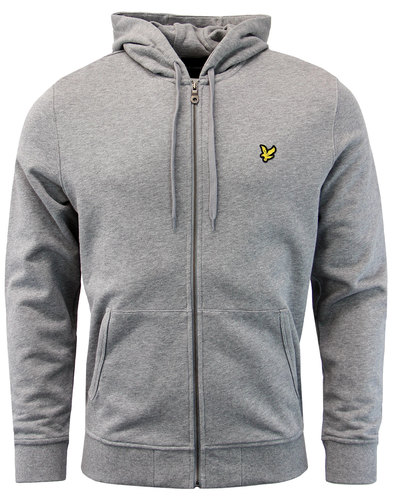 LYLE AND SCOTT Retro Indie Zip Through Hoodie