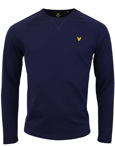 LYLE & SCOTT Retro Lightweight Crew Neck Jumper N