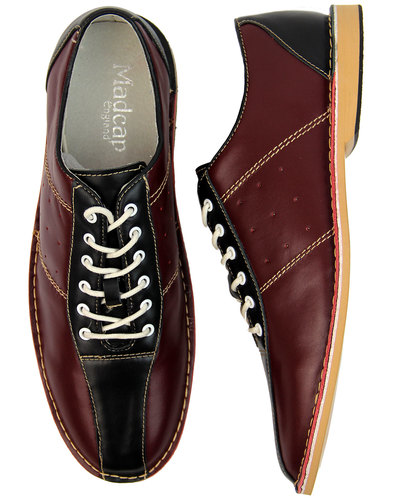 The Dude MADCAP ENGLAND Retro Mod Bowling Shoes