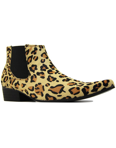 madcap england stewart leopard print chelsea boots