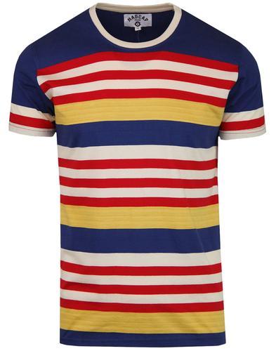 5b347cfa22 Cosmo MADCAP ENGLAND Retro 1970s Stripe T-shirt