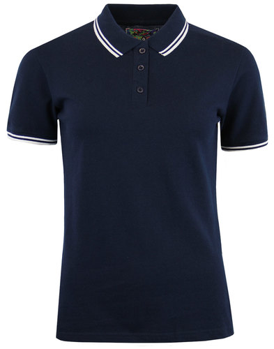 Lottie MADCAP ENGLAND Women's Retro Pique Polo