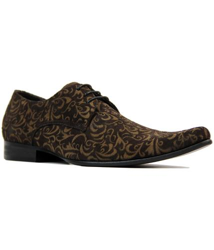 Jag MADCAP ENGLAND Mod Paisley Winklepickers (DB)
