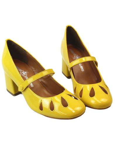 Mary Jane MADCAP ENGLAND 60s Petal Cut Out Shoes