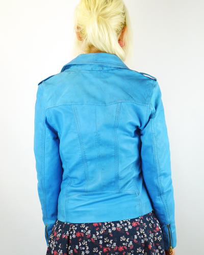 Summerbunch MADCAP ENGLAND Retro Leather Jacket SB