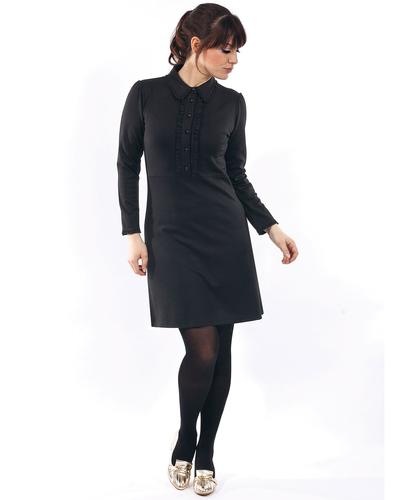 Rebecca MADEMOISELLE YEYE Retro 60s Mod Polo Dress