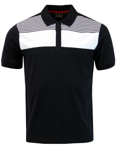 Howard MERC Retro Mod Diamond Panel Polo Shirt