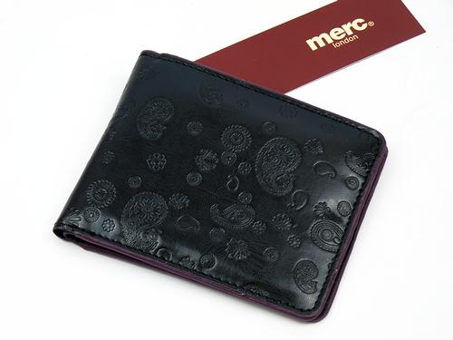 Walsh MERC Men's Retro Mod 60s Paisley Wallet