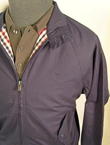 'London' - BEN SHERMAN Harrington Jacket (Navy)