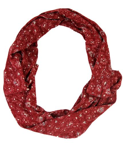 NOMADS Retro Organic Cotton Floral Circle Scarf