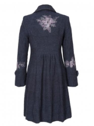 Embroidered Handloom NOMADS Women's Vintage Coat P