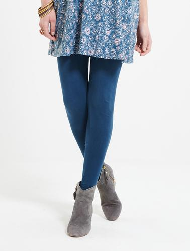 NOMADS Vintage Style Organic Cotton Leggings Teal