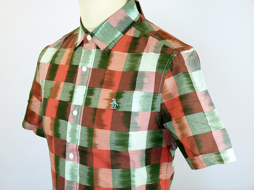 Buffalo Check ORIGINAL PENGUIN Retro Indie Shirt