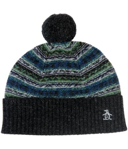 Kisca ORIGINAL PENGUIN Retro 70s Bobble Hat