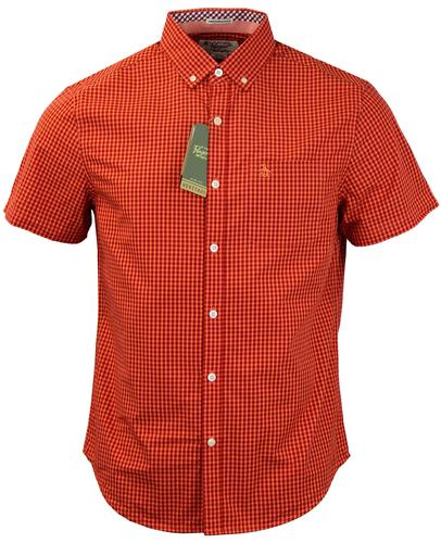 Belan Gingham ORIGINAL PENGUIN Retro Mod S/S Shirt