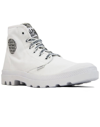 Pampa Hi PALLADIUM 70th Anniversary Ankle Boots WT