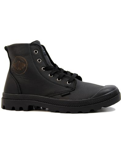 Pampa Hi Leather PALLADIUM Retro Military Boots B