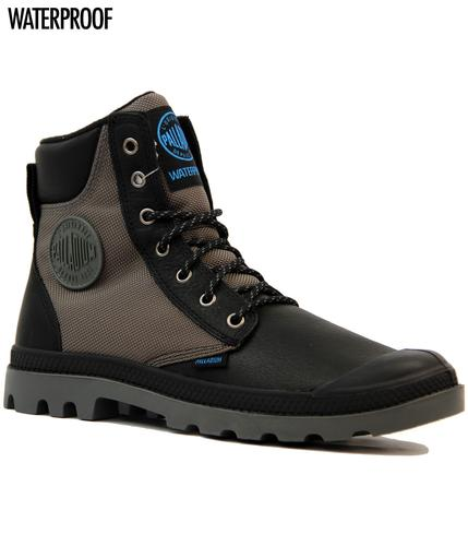 Pampa Sport Cuff PALLADIUM Retro Leather Boots