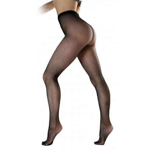 9436c2978 Pamela Mann Womens Retro Vintage Fishnet Tights in Black