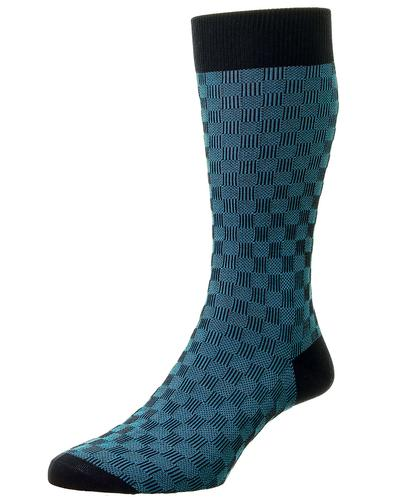 + Patino PANTHERELLA Men's 3D Basketweave Socks N