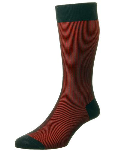 + Santos PANTHERELLA Men's Tonic Effect Socks BR