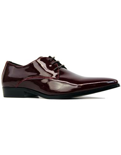Sai Lace PAOLO VANDINI Patent Leather Shoes BORDO