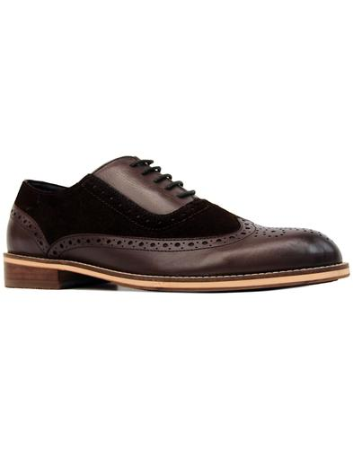 paolo vandini saxby 60s mod oxford saddle brogues