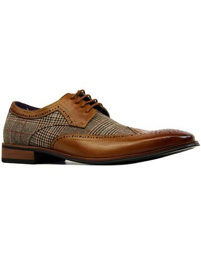 Spencer PAOLO VANDINI 60s Mod POW Check Brogues T