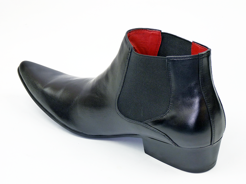 Veer 3 Leather LOW PAOLO VANDINI Mod Chelsea Boots
