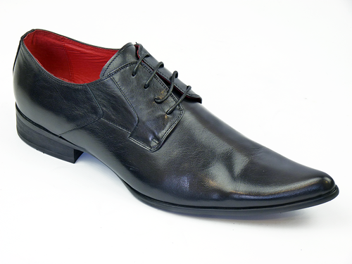 Veer1 Leather PAOLO VANDINI Mod Winklepicker Shoes