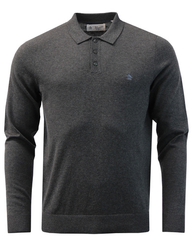 ORIGINAL PENGUIN Mod Supima Cotton Knit Polo Top