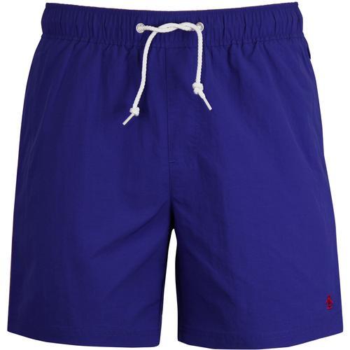 09583b9e2ac5e original penguin mens daddy quick dry drawstring swim shorts blue