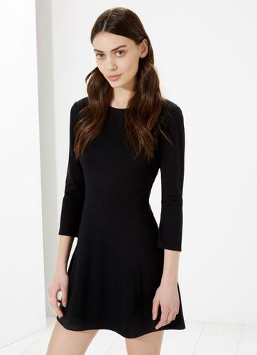 Freda PEPE JEANS Retro Mod Panel Skater Dress
