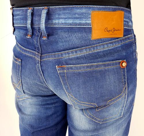 Hatch PEPE Retro Indigo Blast Slim Leg Indie Jeans
