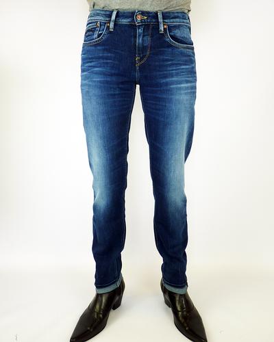 Hatch PEPE Retro Faded Indigo Slim Leg Indie Jeans
