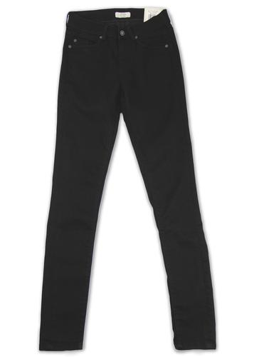 New Elite Pepe Retro Indie Black Skinny Jeans