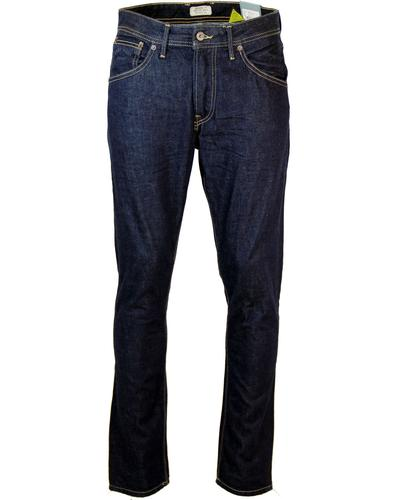 Steele PEPE Regular Tapered Fit Dark Blue Jeans