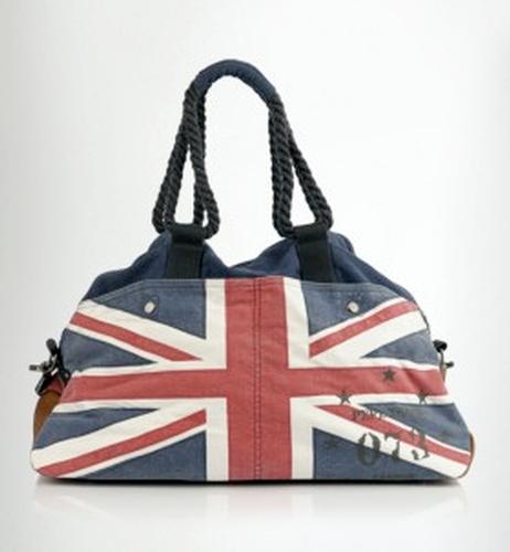 Porter Pepe Jeans Retro Mod Union Jack Holdall Bag