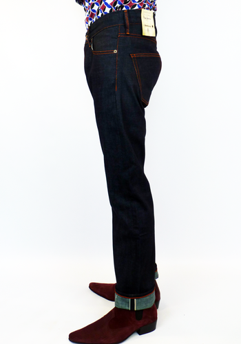 PEPE Sewmore Retro Mod Indigo Selvedge Indie Jeans