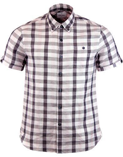Worker PETER WERTH Retro Check Linen Shirt