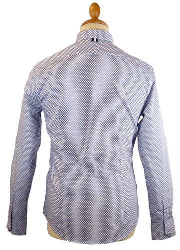 Wheeler PETER WERTH Multi Polkadot 60s Mod Shirt