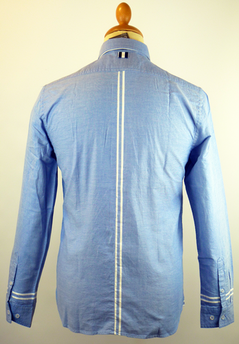 Rufus PETER WERTH Mod Racing Stripe Oxford Shirt