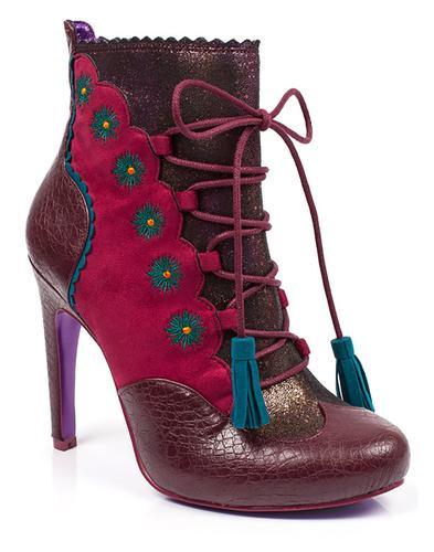 Folklore POETIC LICENCE Retro Lace Ankle Boots B