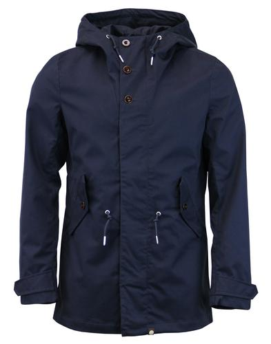 Baxter PRETTY GREEN Retro Mod Bonded Cotton Parka