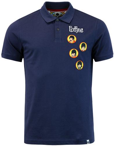 PRETTY GREEN x THE BEATLES 1960s Get Back Polo (N)