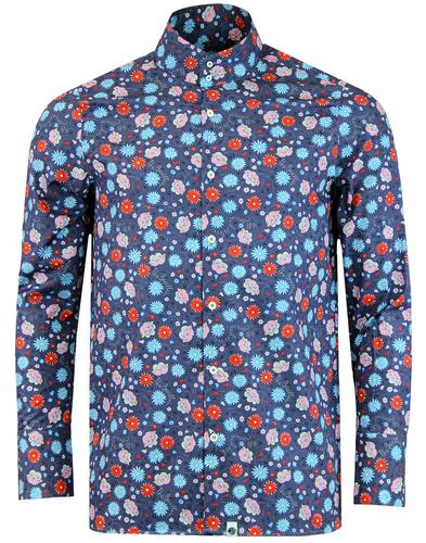 PRETTY GREEN x THE BEATLES Shears Floral Kaftan
