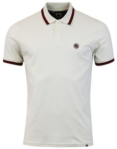 Bennett PRETTY GREEN Retro Mod Rib Tipped Polo Top