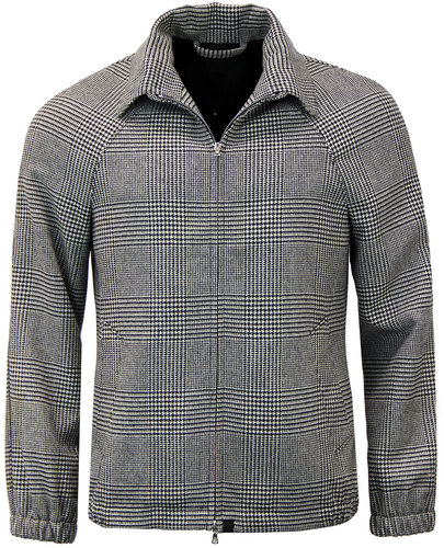 pretty green birley pow check retro mod jacket