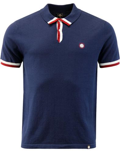 Haverfield PRETTY GREEN Retro Mod Knitted Polo