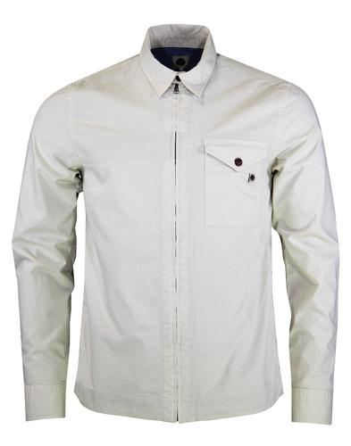 Caroline PRETTY GREEN Mod Military Zip Overshirt